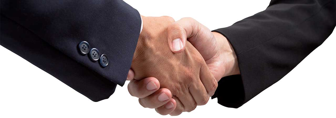 Introducers hand shake